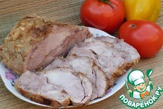 Рецепт: Свинина, шприцованная сливками