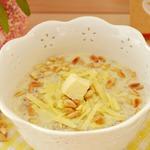 Румяная овсянка с сыром и кедровыми орешками