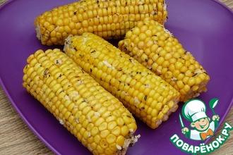 Рецепт: Кукуруза Пряная на пару (в мультиварке)
