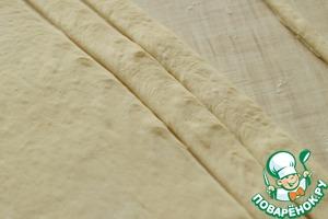 Конусы из хлебного теста с начинкой