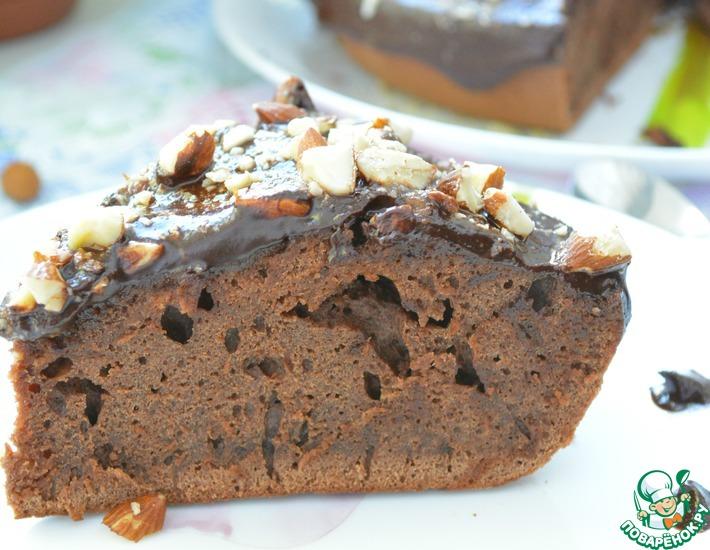 Рецепт: Шоколадный пирог на кефире в мультиварке