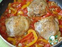 Курица с Сицилийской пеперонатой ингредиенты