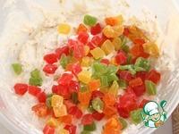 Творожно-злаковые корзиночки с цукатами ингредиенты