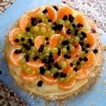 Торт Фруктовый Наполеон