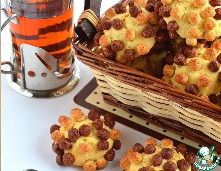 Рецепт: Печенье «Ёжики»