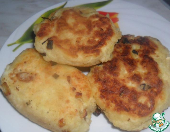 Рецепт: Картофельные пирожки