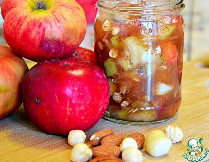 Рецепт: Яблоки в меду