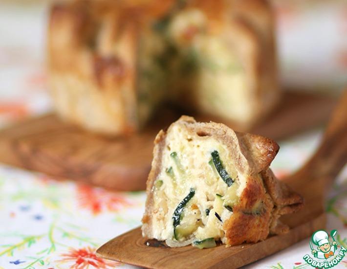 Рецепт: Пирог с кабачками