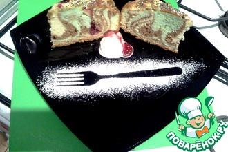 Рецепт: Радужный пирог с яблоками от д. Юры