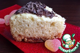 Рецепт: Мармеладно кокосовый пирог Блаженство
