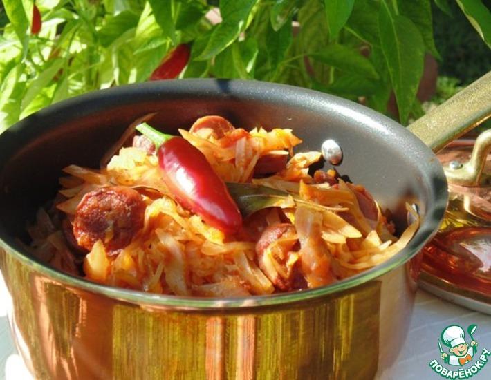 рецепты капустной солянки