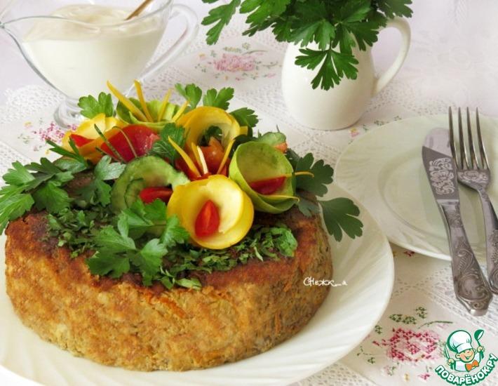 Рецепт: Овощной кугель в мультиварке