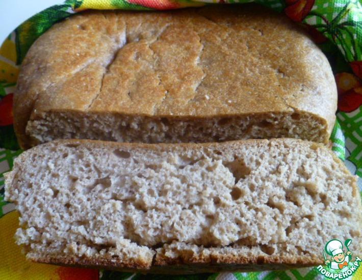 Рецепт: Дарницкий хлеб на закваске