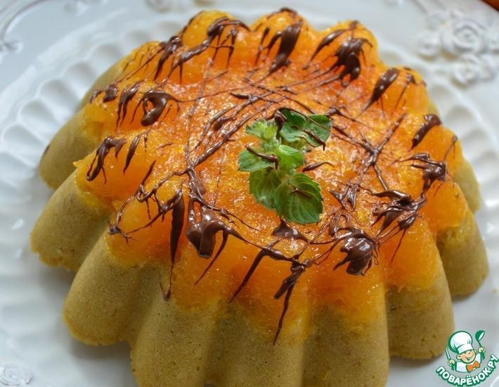 Рецепт: Кофейный пирог с мандаринами