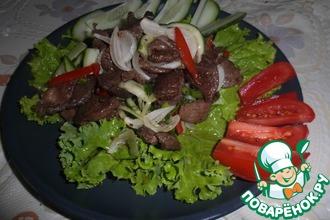 Рецепт: Салат из баранины по-тайски