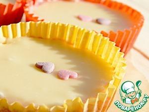 Рецепт Десерт из сливового желе и белого шоколада