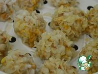 Фрикадельки в рисовых хлопьях ингредиенты