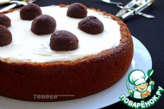 Рецепт: Творожный торт Черный трюфель