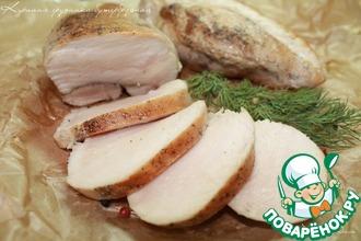 Рецепт: Куриная грудка бутербродная