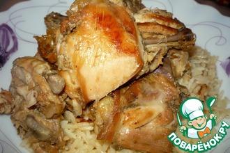Рецепт: Пряная курица с рисом Свекровь довольна!