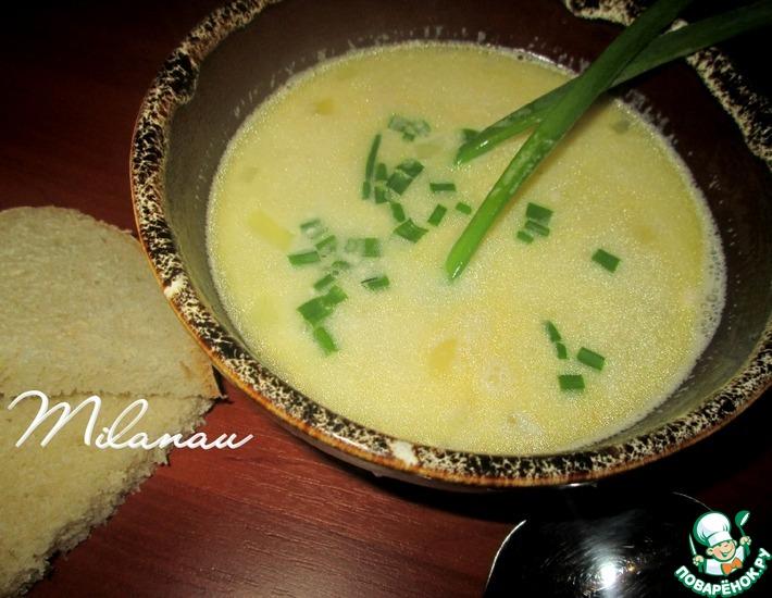 Рецепт: Картофельный суп с плавленым сыром