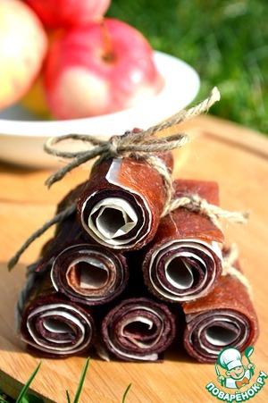 Рецепт: Яблочная пастила