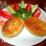 Рыбные зразы с луком и яйцом