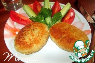 Рецепт: Рыбные зразы с луком и яйцом