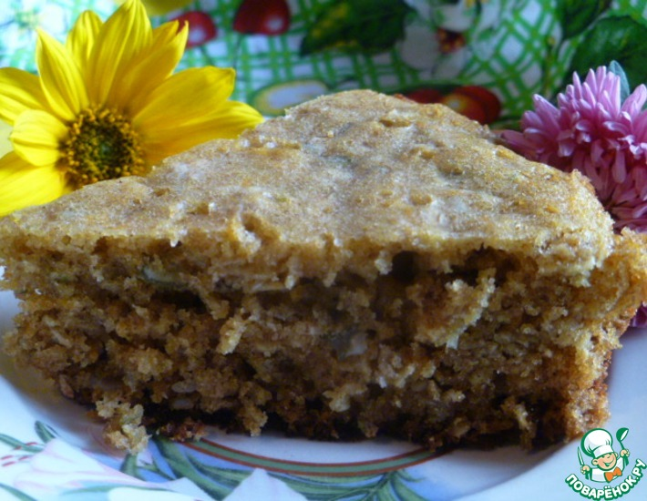 Рецепт: Тыквенный пирог  Полезный