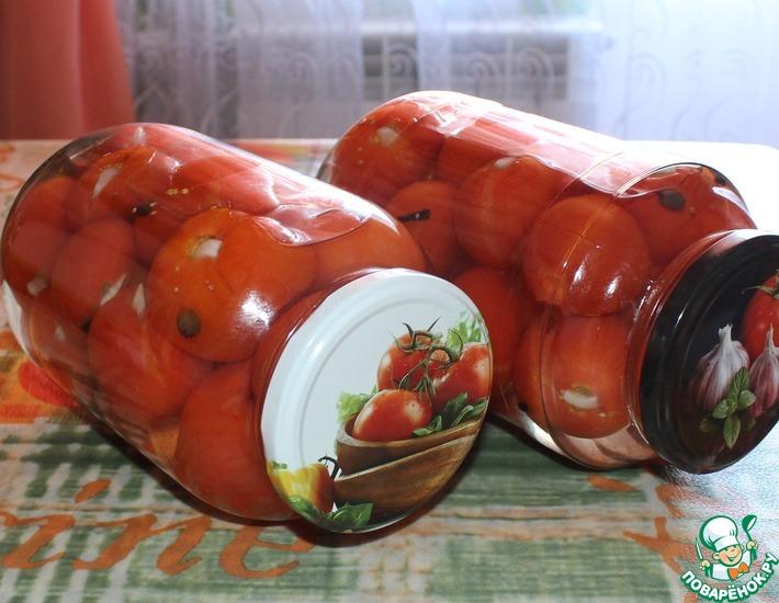 Рецепт: Маринованные помидоры Сюрприз