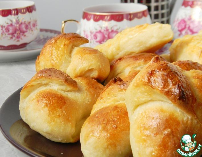 Рецепт: Сырные булочки на рисовых хлопьях
