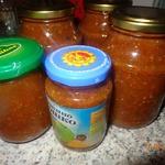 Томатный соус с кинзой на зиму