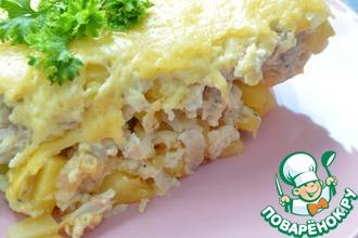 Рецепт: Запеканка из курицы со сметаной Нежность
