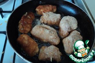 Рецепт: Рулеты из куриной грудки