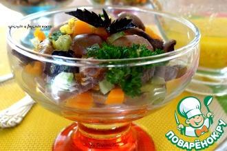 Рецепт: Порционный салат Kress