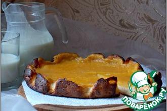 Рецепт: Пшено-творожная запеканка с мандаринами