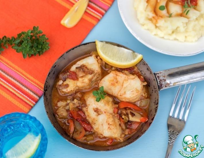 Рецепт: Рыба в овощном маринаде