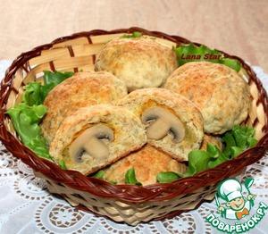 Рецепт Сырно-овсяные булочки с сюрпризом