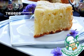 Рецепт: Яблочно-кокосовый пирог