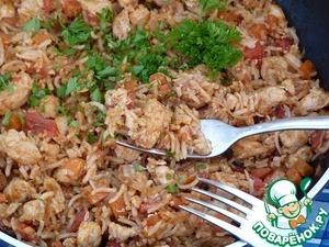 Рецепт Наси горенг (вариация)