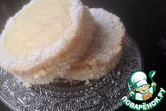 Рецепт: Кокосовое пироженое Ангел