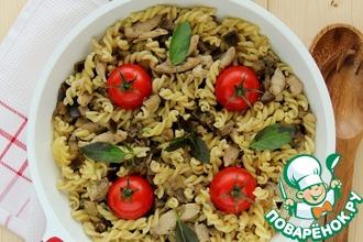 Рецепт: Почти итальянская сковородка
