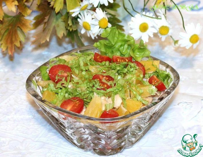 Рецепт: Салат Гармония вкуса и цвета