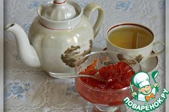 Рецепт: Яблочно-арбузное варенье
