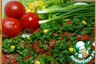 Рецепт: Пшенные котлеты в томате к завтраку