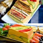 Сырный закусочный торт