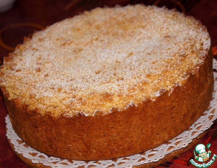 Рецепт: Царский яблочный пирог