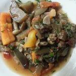 Салат из баклажанов и грибов на зиму
