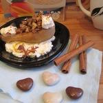 Тёплый десерт к завтраку Груша в облаках