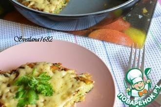 Рецепт: Картофельный пирог на сковороде